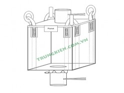 Cross corner belt FIBC bulk bags